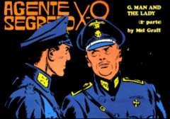 Copertina AGENTE SEGRETO X-9 n.9 - Un uomo da salvare, Parte 2 , COMIC ART