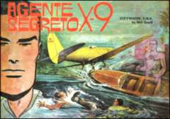 Copertina AGENTE SEGRETO X-9 n.2 - Luftwaffe U.S.A., COMIC ART