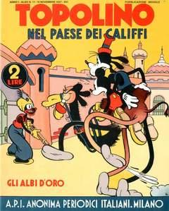 Copertina ALBI D'ORO n.11 - Topolino nel paese dei califfi, COMIC ART