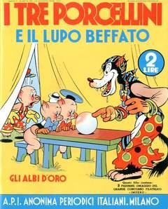 Copertina ALBI D'ORO n.20 - I tre porcellini e il lupo beffato, COMIC ART