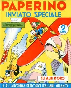 Copertina ALBI D'ORO n.21 - Paperino inviato speciale, COMIC ART