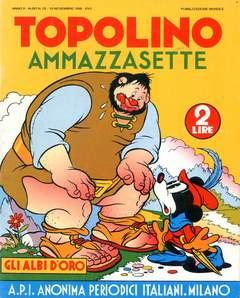 Copertina ALBI D'ORO n.23 - Topolino ammazzasette, COMIC ART