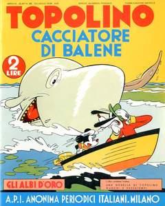 Copertina ALBI D'ORO n.28 - Topolino cacciatore di balene, COMIC ART