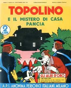 Copertina ALBI D'ORO n.30 - Topolino e il mistero di casa Pancia, COMIC ART