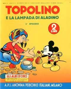 Copertina ALBI D'ORO n.41 - Topolino e la lampada di Aladino, COMIC ART