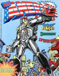 Copertina ALL AMERICAN COMICS n.10 - ALL AMERICAN COMICS 10, COMIC ART