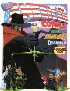 Copertina ALL AMERICAN COMICS n.3 - ALL AMERICAN COMICS  3, COMIC ART