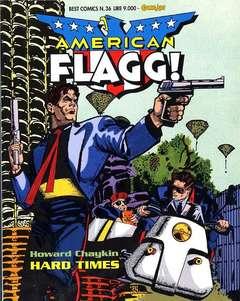 Copertina AMERICAN FLAGG! n.36 - AMERICAN FLAGG!, COMIC ART