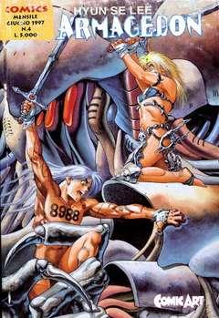 Copertina ARMAGEDON n.4 - ARMAGEDON, COMIC ART