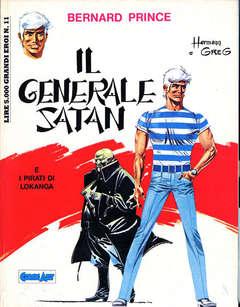 Copertina BERNARD PRINCE n.1 - IL GENERALE SATAN, COMIC ART