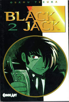 COMIC ART - BLACK JACK
