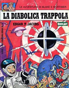 Copertina BLAKE E MORTIMER n.1 - LA DIABOLICA TRAPPOLA, COMIC ART