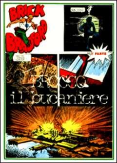 Copertina BRICK BRADFORD strisce giornaliere n.11 - Brocco il bucaniere - Parte 1, COMIC ART