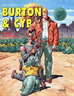 Copertina BURTON & CYB n.1 - BURTON & CYB, COMIC ART