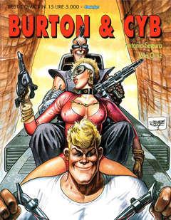 Copertina BURTON & CYB n.2 - BURTON & CYB 2, COMIC ART