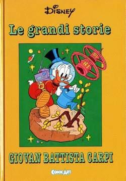 Copertina CAPOLAVORI DISNEY n.12 - Le grandi storie di Giovan Battista Carpi 1960-61, COMIC ART