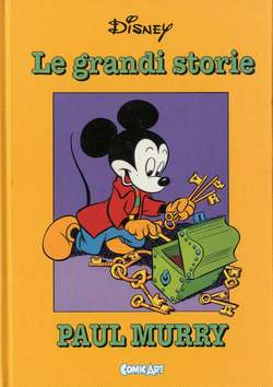 Copertina CAPOLAVORI DISNEY n.14 - Le grandi storie di Paul Murry 1946-50, COMIC ART