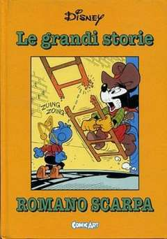 Copertina CAPOLAVORI DISNEY n.18 - Le grandi storie di Romano Scarpa 1960/61, COMIC ART