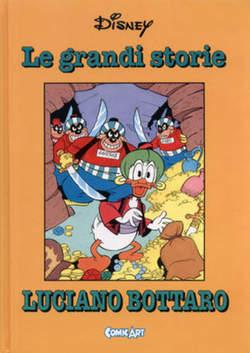 Copertina CAPOLAVORI DISNEY n.20 - Le grandi storie di Luciano Bottaro 1961-62, COMIC ART