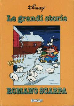 Copertina CAPOLAVORI DISNEY n.25 - Le grandi storie di Romano Scarpa 1955, COMIC ART