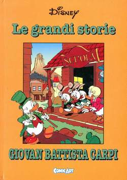 Copertina CAPOLAVORI DISNEY n.27 - Le grandi storie di Giovan Battista Carpi 1961-62, COMIC ART