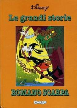 Copertina CAPOLAVORI DISNEY n.28 - Le grandi storie di Romano Scarpa 1957, COMIC ART