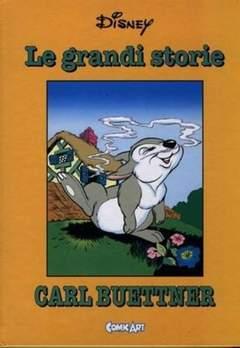 Copertina CAPOLAVORI DISNEY n.32 - Le grandi storie di Carl Buettner 1942-44, COMIC ART