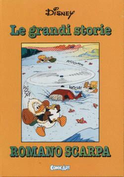 Copertina CAPOLAVORI DISNEY n.33 - Le grandi storie di Romano Scarpa 1956, COMIC ART
