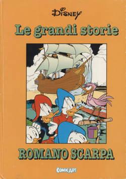 Copertina CAPOLAVORI DISNEY n.34 - Le grandi storie di Romano Scarpa 1957, COMIC ART