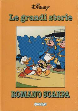 Copertina CAPOLAVORI DISNEY n.35 - Le grandi storie di Romano Scarpa 1961-62, COMIC ART
