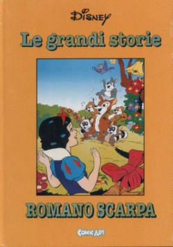 Copertina CAPOLAVORI DISNEY n.36 - Le grandi storie di Romano Scarpa 1962, COMIC ART