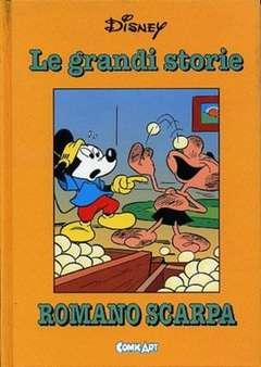 Copertina CAPOLAVORI DISNEY n.38 - Le grandi storie di Romano Scarpa 1962, COMIC ART
