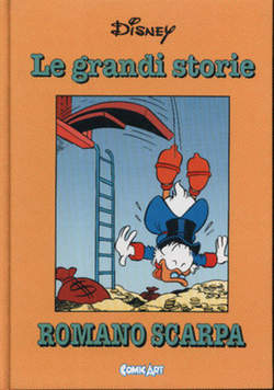 Copertina CAPOLAVORI DISNEY n.39 - Le grandi storie di Romano Scarpa 1962, COMIC ART