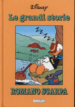 Copertina CAPOLAVORI DISNEY n.40 - Le grandi storie di Romano Scarpa 1962, COMIC ART