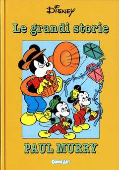 Copertina CAPOLAVORI DISNEY n.4 - Le grandi storie di Paul Murry 1955 / 56, COMIC ART