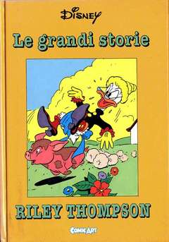 Copertina CAPOLAVORI DISNEY n.7 - Le grandi storie di Riley Thompson 1950-51, COMIC ART