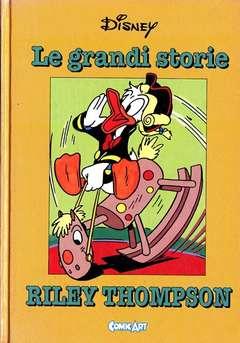 Copertina CAPOLAVORI DISNEY n.8 - Le grandi storie di Riley Thompson 1950-53, COMIC ART