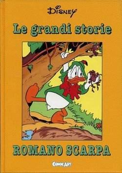 Copertina CAPOLAVORI DISNEY n.9 - Le grandi storie di Romano Scarpa 1959-60, COMIC ART