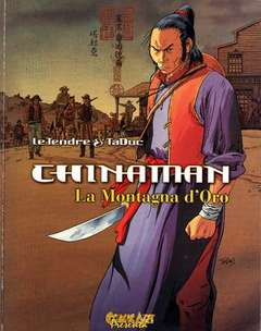 Copertina CHINAMAN n.170 - LA MONTAGNA D'ORO, COMIC ART