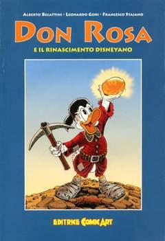 Copertina COLLANA DEL SAGGIO n.23 - Don Rosa e il rinascimento disneyano, COMIC ART