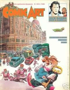 Copertina COMIC ART n.102 - COMIC ART                  102, COMIC ART