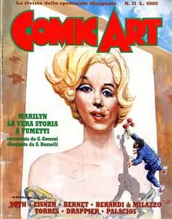 Copertina COMIC ART n.11 - COMIC ART                   11, COMIC ART