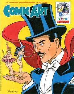 Copertina COMIC ART n.121 - COMIC ART                  121, COMIC ART