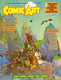 Copertina COMIC ART n.14 - COMIC ART                   14, COMIC ART