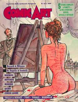 Copertina COMIC ART n.18 - COMIC ART                   18, COMIC ART
