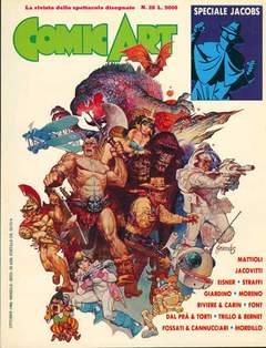 Copertina COMIC ART n.26 - COMIC ART                   26, COMIC ART