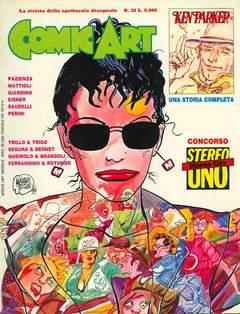 Copertina COMIC ART n.32 - COMIC ART                   32, COMIC ART
