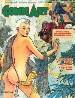 Copertina COMIC ART n.36 - COMIC ART                   36, COMIC ART