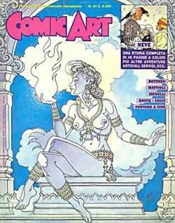 Copertina COMIC ART n.64 - COMIC ART                   64, COMIC ART
