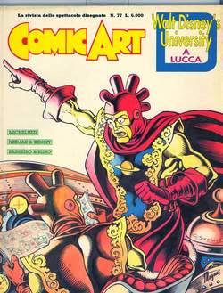 Copertina COMIC ART n.77 - COMIC ART                   77, COMIC ART